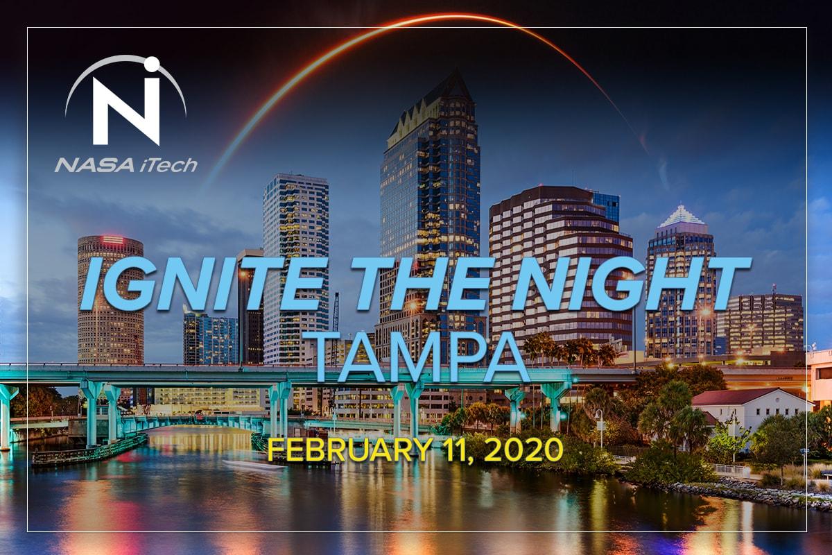 NASA iTech's Ignite the Night TAMPA event, February 11, 2020