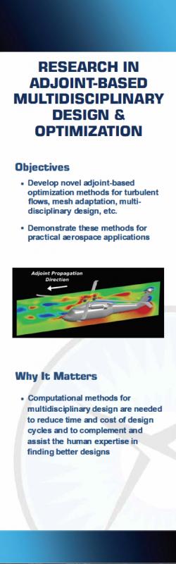 Adjoint-Based Multidisciplinary Design & Optimization